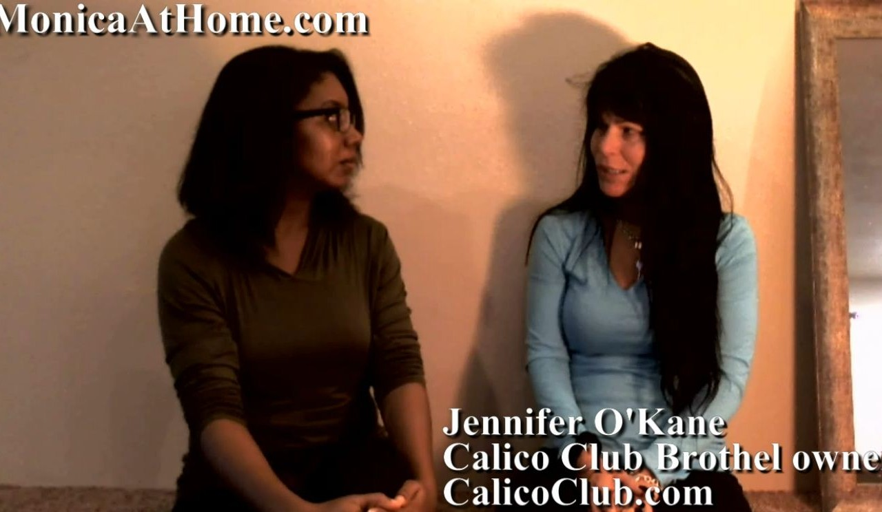 Alexandra aka Monica Foster interview Jennifer O'Kane of Calico Club brothel in Battle Mountain, NV