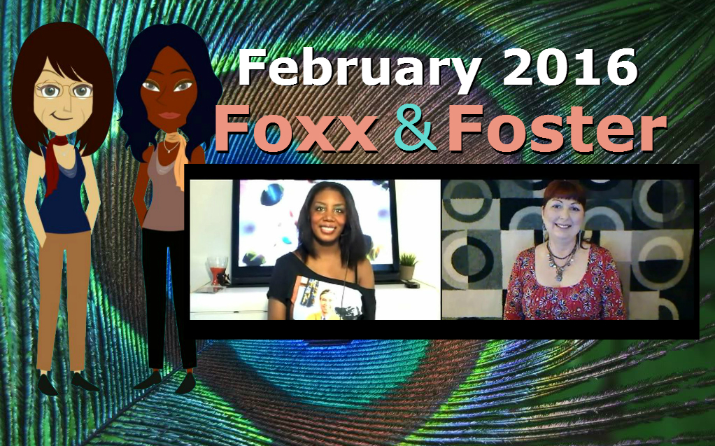 Foxx and Foster February 2016 webcast featuring Alexandra Mayers aka Monica Foster and Diana fka Desi Foxx