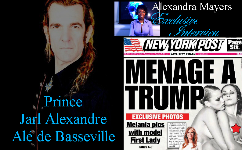Prince Jarl Alexandre Alé de Basseville - The man who took Melania Trump's erotic, nude photographs