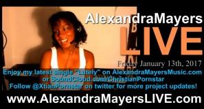 Alexandra Mayers LIVE - Christian pornstar - Lately