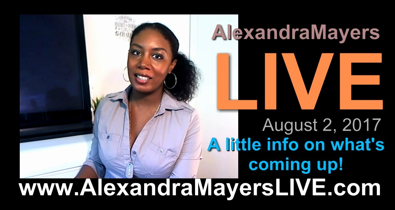Alexandra Mayers LIVE news and personal update 2017
