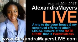Alexandra Mayers - legal closure on pornwikileaks